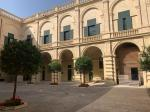 Grandmaster Palace courtyard in Valletta (today the President's Palace)