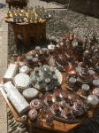 Metal souvenirs next to Stari Most (Old Bridge) of Mostar